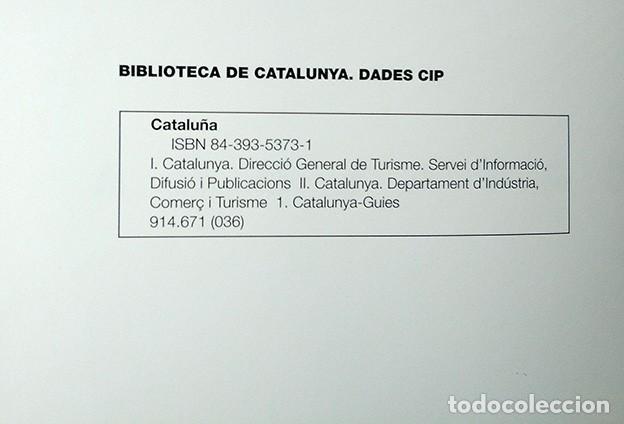 Libros de segunda mano: Cataluña. Libro publicado por Turisme de Catalunya, 2001 - Foto 3 - 194511793