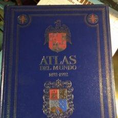 Libros de segunda mano: ATLAS DEL MUNDO 1492-1992. CARTOGRAFIA, MAPAS, FOTOS DEL MUNDO.. Lote 194530768