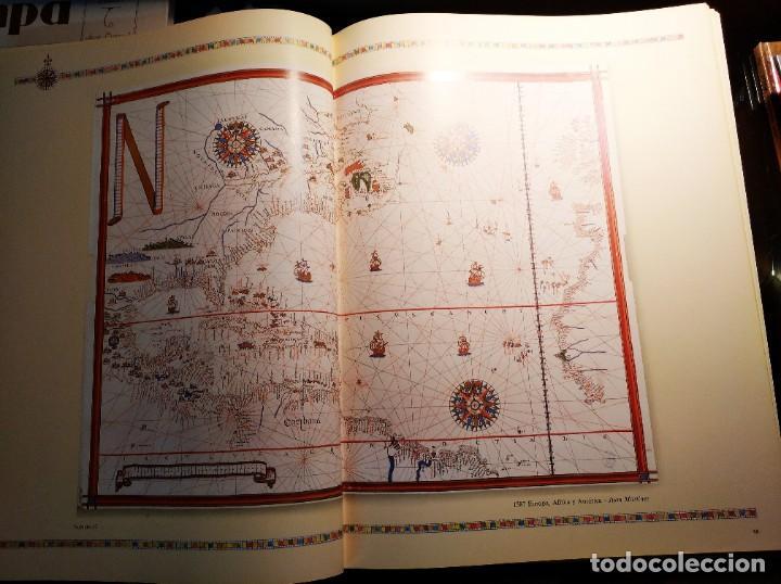 Libros de segunda mano: ATLAS DEL MUNDO 1492-1992. Cartografia, Mapas, Fotos del Mundo. - Foto 4 - 194530768