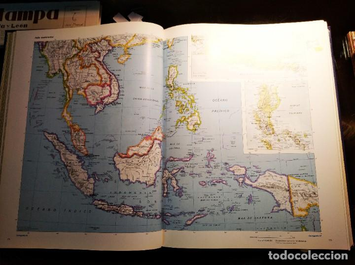 Libros de segunda mano: ATLAS DEL MUNDO 1492-1992. Cartografia, Mapas, Fotos del Mundo. - Foto 6 - 194530768
