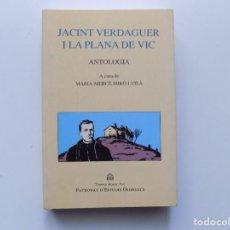 Libros de segunda mano: LIBRERIA GHOTICA. MARIA-MERÇÈ MIRÓ.JACINT VERDAGUER I LA PLANA DE VIC. 1997. ILUSTRADO.. Lote 194531851