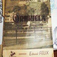 Libros de segunda mano: ORIHUELA HISTORIA GEOGRAFIA ARTE FOLKLORE DE SU PARTIDO JUDICIAL J SANSANO ED. FELIX 1ª EDICIÓN 1954. Lote 194537036