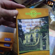 Libros de segunda mano: FINES DE SEMANA EN HOTELES INOLVIDABLES. GUÍA-71. Lote 194571021