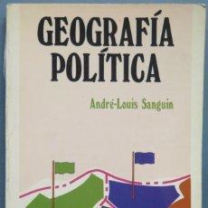 Libros de segunda mano: GEOGRAFIA POLITICA. SANGUIN. Lote 194605362