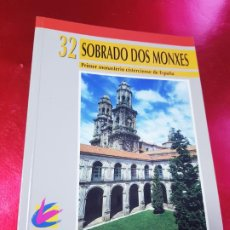 Libros de segunda mano: LIBRO-SOBRADO DOS MONXES-PRIMER MONASTº CISTERCIENSE DE ESPAÑA-EDILESA-SANTIAGO E. ORDOÑEZ(O.C.S.O)-. Lote 194625958