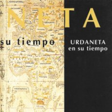 Libros de segunda mano: URDANETA EN SU TIEMPO. JOSE RAMON DE MIGUEL BOSCH SOCIEDAD DE OCEANOGRAFÍA DE GIPUZKOA. LIBRO VASCO. Lote 194647591
