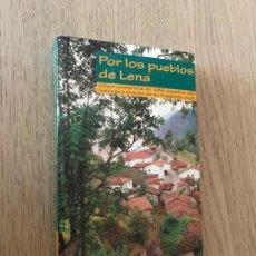 Libros de segunda mano: POR LOS PUEBLOS DE LENA. JULIO CONCEPCIÓN SUÁREZ. Lote 194667326