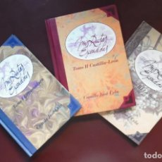 Libros de segunda mano: MIS RUTAS ESCONDIDAS, DE CAMILO JOSÉ CELA. I EXTREMADURA, II CASTILLA-LEÓN Y III LA RIOJA, RUTA VINO. Lote 194736550