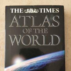 Libros de segunda mano: LIBRO - ATLAS OF THE WORLD - THE TIMES 2000 - (ATLAS DEL MUNDO MAPAS). Lote 194774600
