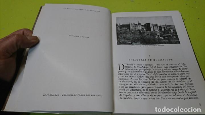 Libros de segunda mano: EL MONASTERIO DE GUADALUPE, CARLOS VALLEJO - Foto 5 - 194886541