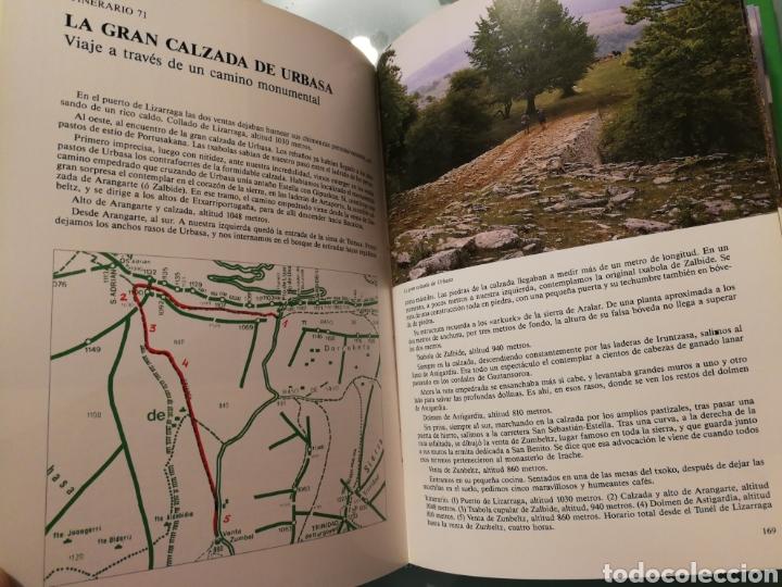 Libros de segunda mano: 100 cumbres y rincones de la Montaña Vasca - Foto 3 - 194888538