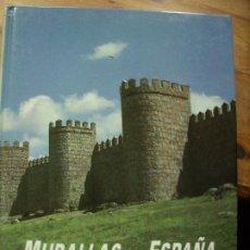 Libros de segunda mano: MURALLAS DE ESPAÑA, JORGE JIMÉNEZ ESTEBAN. EP-170. Lote 194914841