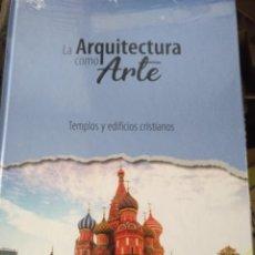 Libros de segunda mano: LA ARQUITECTURA COMO ARTE ,ESTANTE OLORON 7 TOMOS . Lote 194948140