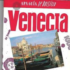 Libros de segunda mano: VENECIA. APA GUÍA DE BOLSILLO.. Lote 194974938