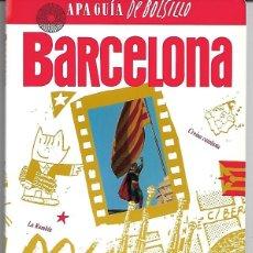 Libros de segunda mano: BARCELONA. APA GUÍA DE BOLSILLO. . Lote 194975435