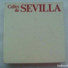 Libros de segunda mano: GRAN LIBRO DE FOTOGRAFIAS ¨ CALLES DE SEVILLA ¨, DE MANUEL FERRAND Y ALBERTO VIÑALS. PLANETA, 1976. Lote 194981805