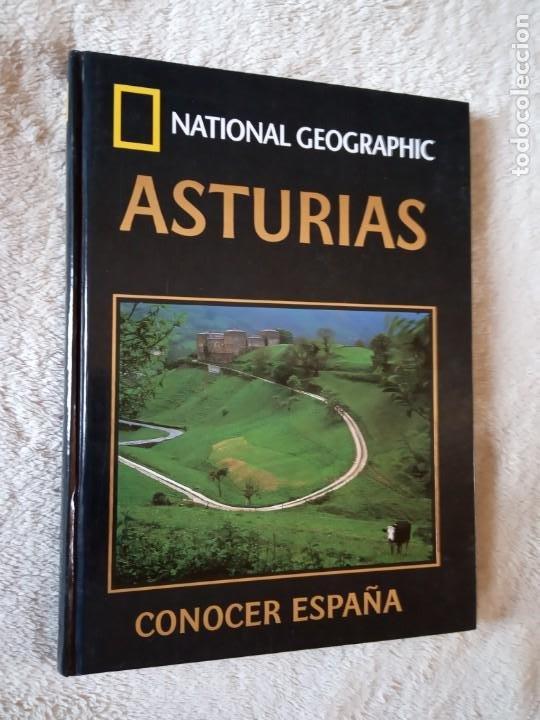 LIBRO NATIONAL GEOGRAPHIC ASTURIAS TOMO TAPAS DURAS (Libros de Segunda Mano - Geografía y Viajes)