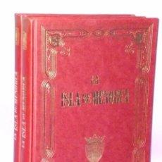 Libros de segunda mano: LA ISLA DE MENORCA EN TEXTO Y EN IMÁGENES. (OBRA COMPLETA EN 2 TOMOS). Lote 195038998