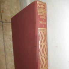 Libros de segunda mano: ENVIO CON TC:4€ LIBRO DE 1952 1ª EDICION.GEOGRAFIA ESPAÑA Y PORTUGAL TOMO 1 CON FOTOGRAFIAS. Lote 195082393