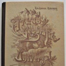 Libros de segunda mano: ATLAS GEOGRÁFICO UNIVERSAL - SALVADOR SALINAS - AÑO 1963 - 35 EDICIÓN. Lote 195116190