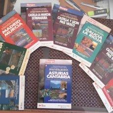 Libros de segunda mano: LOTE DE 9 LIBROS DE COMUNIDADES AUTÓNOMAS DE LA ENCICLOPEDIA LO MÁS NATURAL. Lote 195237415