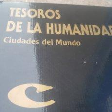 Libros de segunda mano: TESOROS DE LA HUMANIDAD. CIUDADES DEL MUNDO. CAJA CON LOS 7 VOLUMENES. Lote 195242045