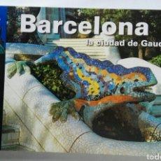 Libros de segunda mano: BARCELONA LA CIUDAD DE GAUDÍ. Lote 195334977