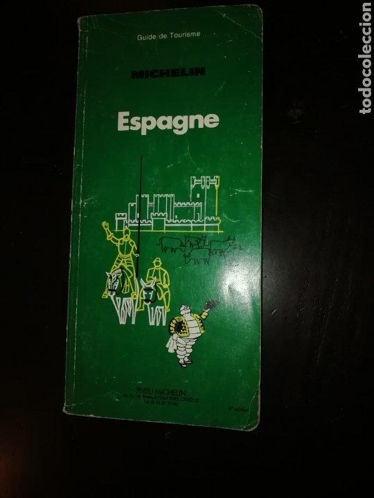 GUIA TURISMO MICHELIN ESPAÑA EN FRANCES 1987 (Libros de Segunda Mano - Geografía y Viajes)