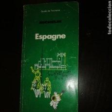Libros de segunda mano: GUIA TURISMO MICHELIN ESPAÑA EN FRANCES 1987. Lote 195338603