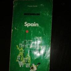 Libros de segunda mano: GUÍA TURISMO MICHELIN SPAIN EN INGLÉS 1982. Lote 195338782