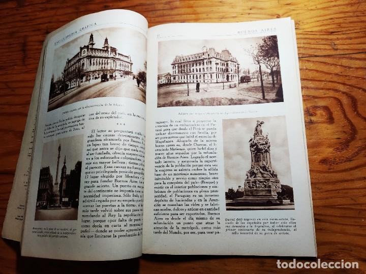 Libros de segunda mano: ENCICLOPEDIA GRAFICA. BUENOS AIRES.1930 ED.CERVANTES - Foto 4 - 195343820