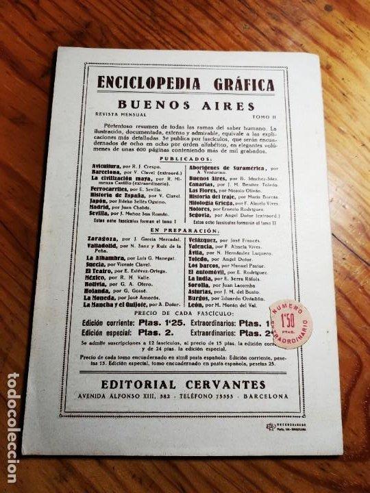 Libros de segunda mano: ENCICLOPEDIA GRAFICA. BUENOS AIRES.1930 ED.CERVANTES - Foto 5 - 195343820