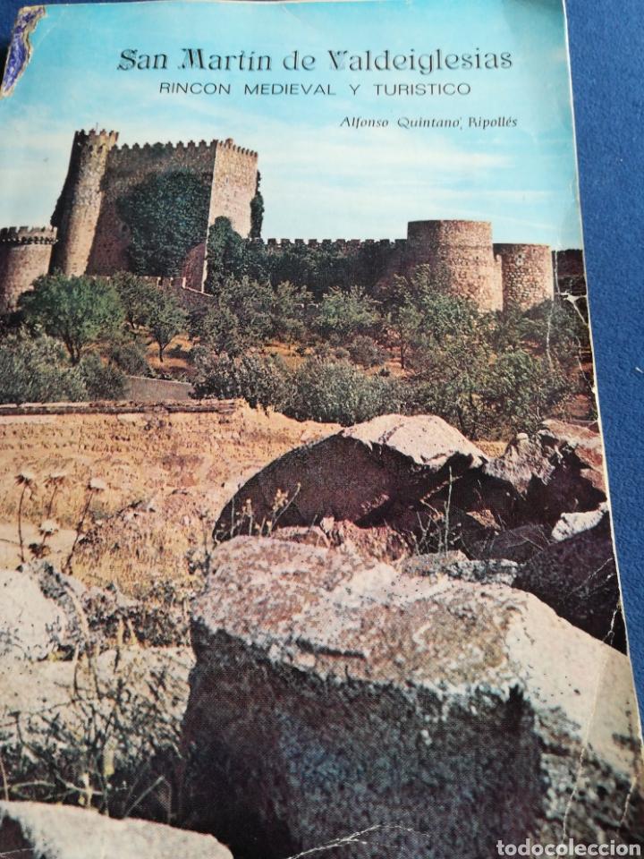 SAN MARTÍN DE VALDEIGLESIAS RINCON MEDIEVAL Y TURÍSTICO ALFONSO QUINTANO RIPOLLES 17X24 (Libros de Segunda Mano - Geografía y Viajes)