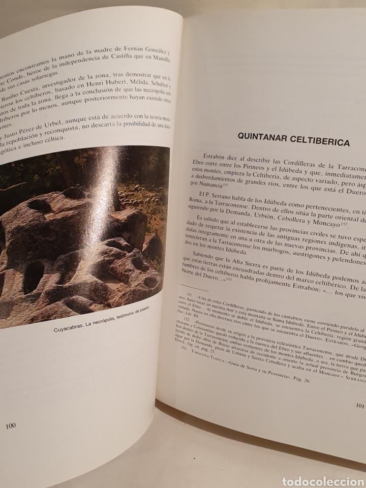 Libros de segunda mano: QUINTANAR DE LA SIERRA. UN PUEBLO BURGALES DE LA COMARCA DE PINARES. PEDRO GIL DE ABAD. - Foto 2 - 195392465