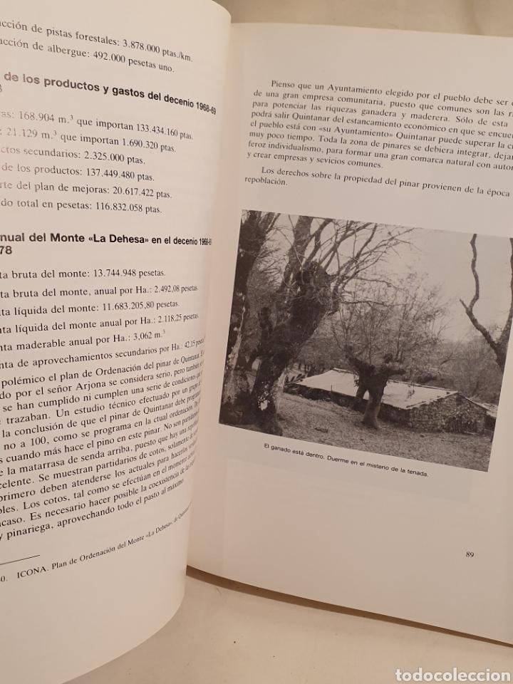 Libros de segunda mano: QUINTANAR DE LA SIERRA. UN PUEBLO BURGALES DE LA COMARCA DE PINARES. PEDRO GIL DE ABAD. - Foto 5 - 195392465