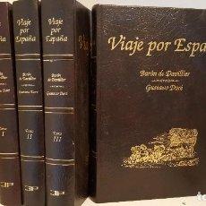 Libros de segunda mano: VIAJE POR ESPAÑA - IV TOMOS. BARÓN DE DAVILLIER. GUSTAVO DORÉ. Lote 195497156