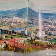 Libros de segunda mano: GALICIA - GUIA TURISTICA DE LA PROVINCIA DE ORENSE - ALFREDO CID RUMBAO - LA REGION ORENSE 1970 +. Lote 195502203