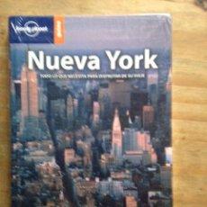 Libros de segunda mano: NUEVA YORK. GUÍA LONELY PLANET EL MUNDO. Lote 195530595