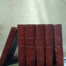 Libros de segunda mano: 6 ENCUADERNACIONES REVISTA VIAJAR. Lote 195626305