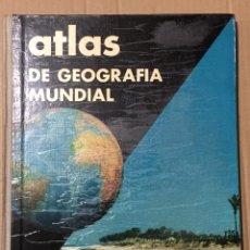Libros de segunda mano: ATLAS DE GEOGRAFIA MUNDIAL - EDITORIAL TEIDE - INSTITUTO GEOGRAFICO DE AGOSTINI 1962. Lote 195628487