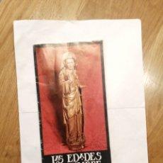 Libros de segunda mano: LAS EDADES DEL HOMBRE. EL ARTE EN LA IGLESIA DE CASTILLA Y LEON.PROGRAMA EXPLICACIÓN ARTISTICA 1988. Lote 196199845