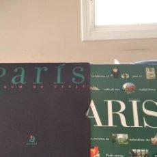 Livres d'occasion: PARIS,ALBUM DE VIAJE-VVAA-ACENTO EDITORIAL-1997-CON FUNDA-MAGNIFICO. Lote 196871121