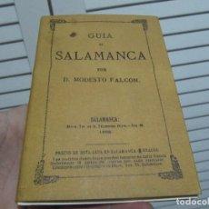 Libros de segunda mano: GUÍA DE SALAMANCA (FACSÍMIL) - FALCÓN, MODESTO. Lote 197374045