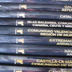 Libros de segunda mano: COLECCION NUESTROS PUEBLOS -- COMPLETA 10 TOMOS -- EDICIONES RUEDA . Lote 198116083