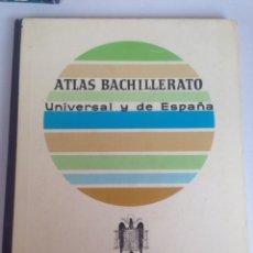 Libros de segunda mano: ANTIGUO ATLAS BACHILLERATO UNIVERSAL Y DE ESPAÑA - AGUILAR. Lote 198164176