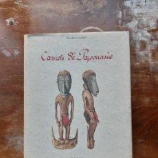 Libros de segunda mano: CARNETS DE PAPONASIE NICOLAS GARNIER. Lote 198303976