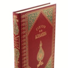 Libros de segunda mano: CUENTOS DE LA ALHAMBRA - WASHINGTON IRVING. BBV PRIVANZA, 1998. 23X32 CM.. Lote 198692433