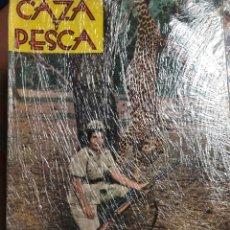 Libros de segunda mano: REVISTA CAZA Y PESCA AÑO 1962 12 NÚMEROS. Lote 198707058