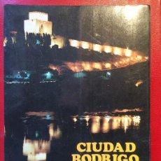 Libros de segunda mano: CATÁLOGO CIUDAD RODRIGO CARNAVAL 87 FIESTAS FOLKLORE ARTE LITERATURA S XX. Lote 198721735