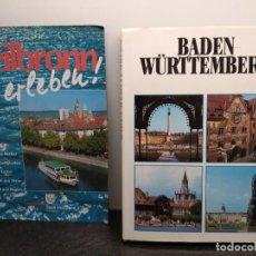 Libros de segunda mano: LIBRO DE BADEN-WÜRTTEMBERG + REVISTA DE HEILBRONN. EN ALEMÁN. (ENVÍO 4,31€). Lote 198766776
